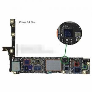 iphone6基盤、ICチップの場所