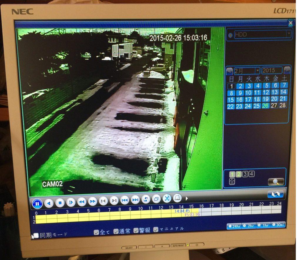 苫小牧市内で防犯カメラの設置も行っております