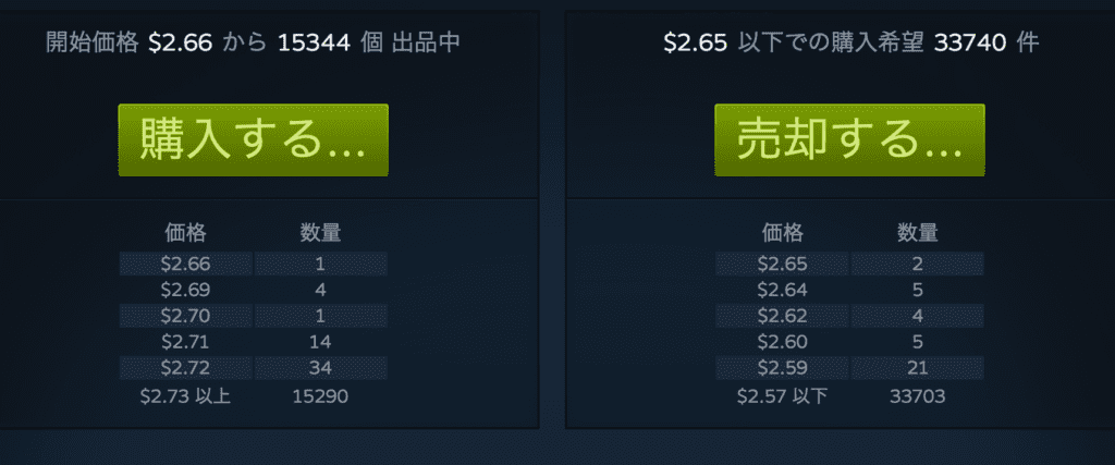 PUBG_クレート売買