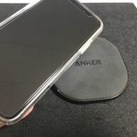 iPhoneXのQiワイヤレス機器