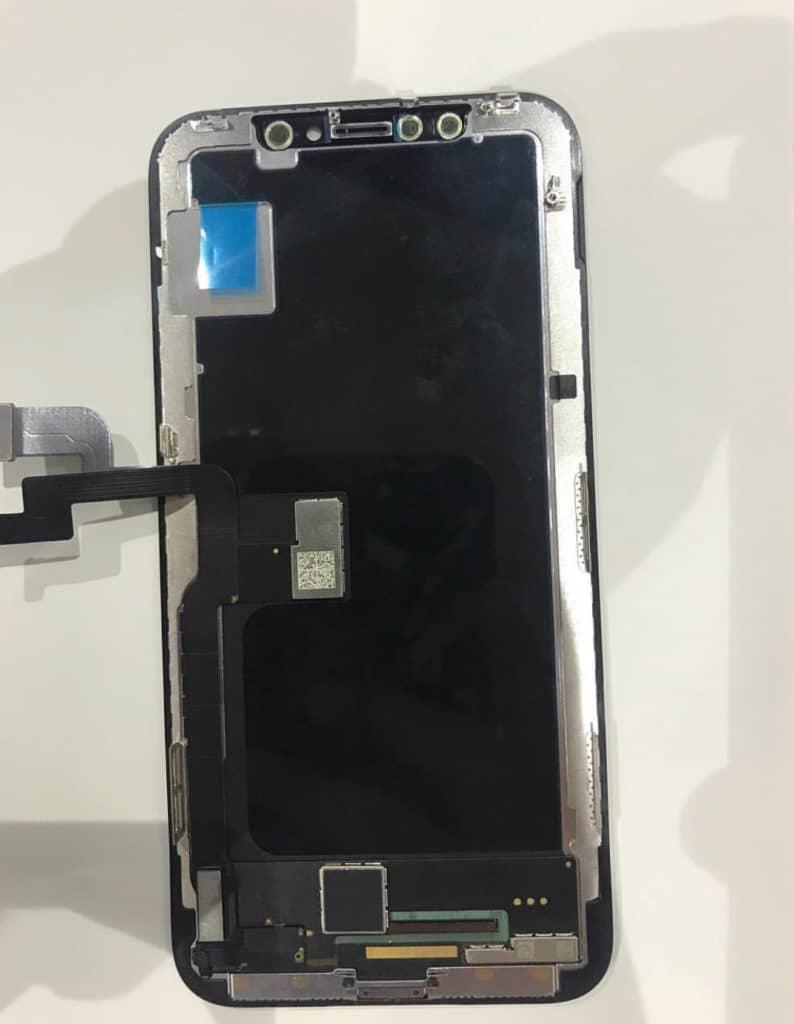 iPhoneXリペアパネル背面