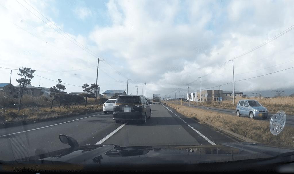 ドライブレコーダー映像