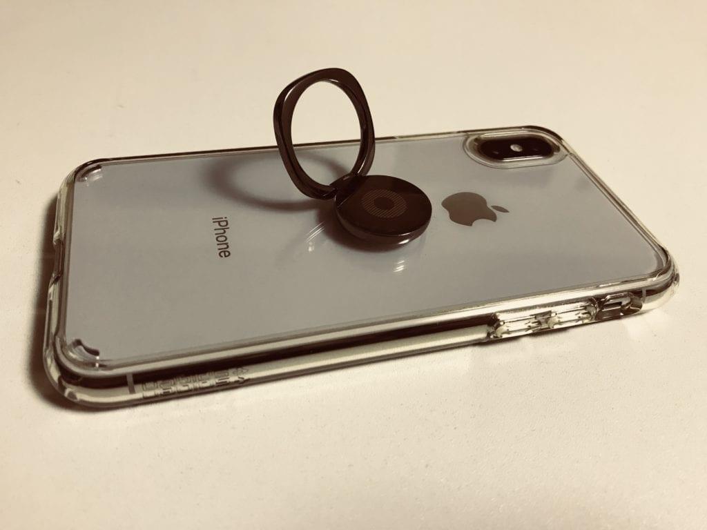 iPhoneホールドリング