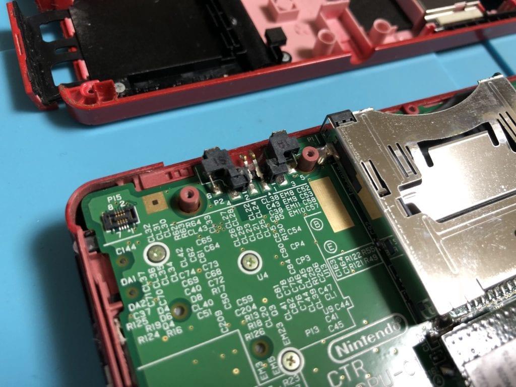 苫小牧ニンテンドー3DS電源コネクタ修理