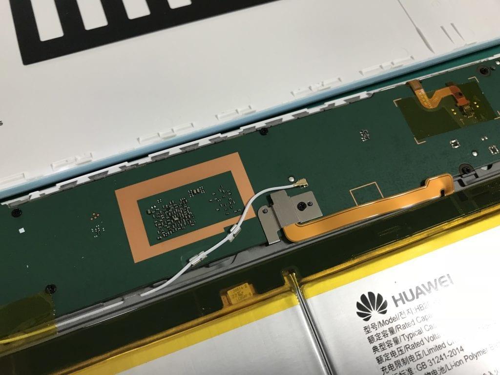 Huawei Qua tab 02修理