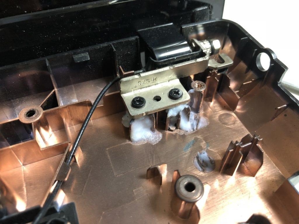 G580ヒンジの修理4