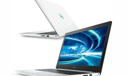 Dell G3 15 プラチナ Core i7 8750H・8GBメモリ・128GB SSD+1TB HDD・GTX 1050Ti搭載モデル