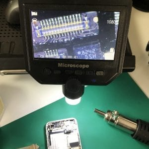 iPhone電子顕微鏡