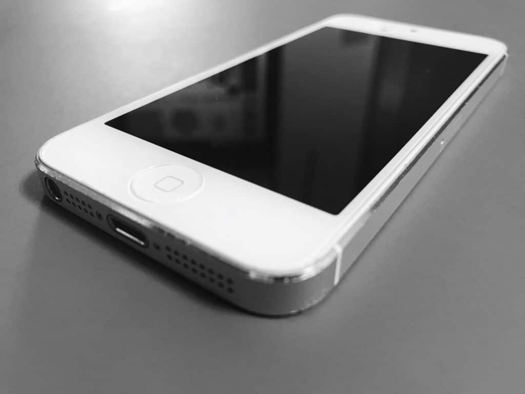 iPhoneの砂嵐の音