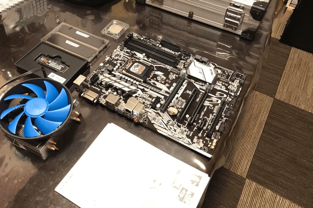 PUBG環境PCパーツ