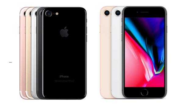 iPhone7&iPhone8