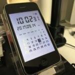 iPhone3G時計