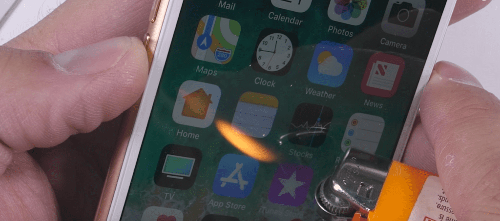iPhone8耐久及びスピードテスト