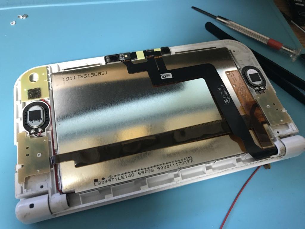 Newニンテンドー3DSの上の液晶画面の交換