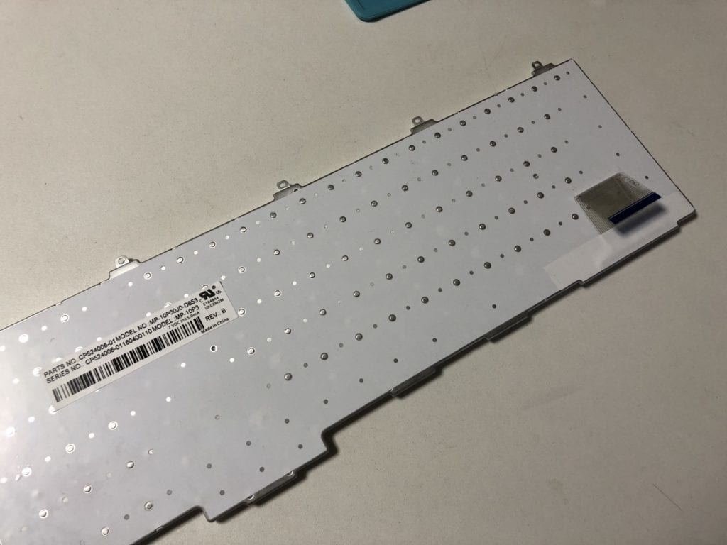 ノートパソコン水没修理