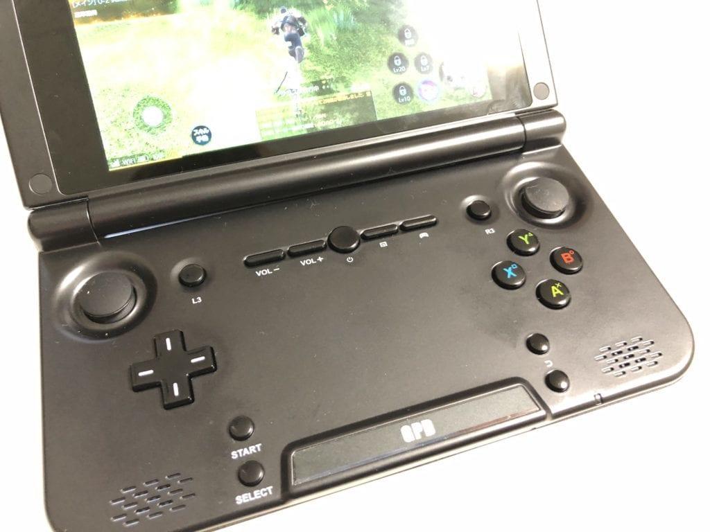 GPD XD ボタン