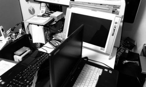 苫小牧のパソコン修理の様子