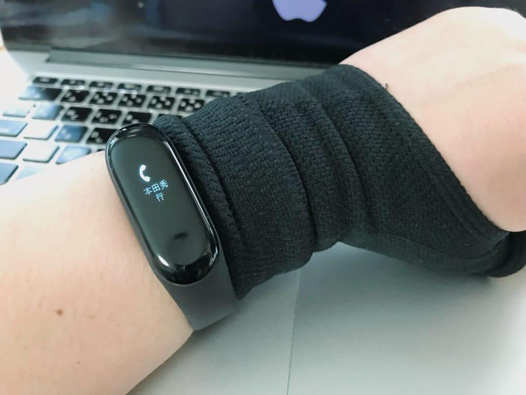 Xiaomi Mi band 3装着