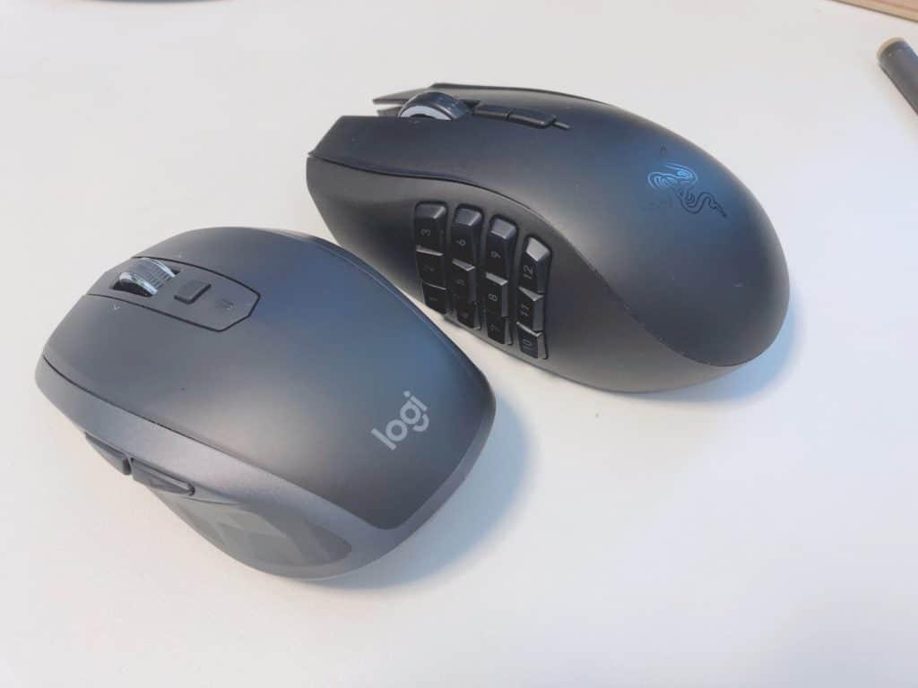 マウスは2つ使いが習慣化しました