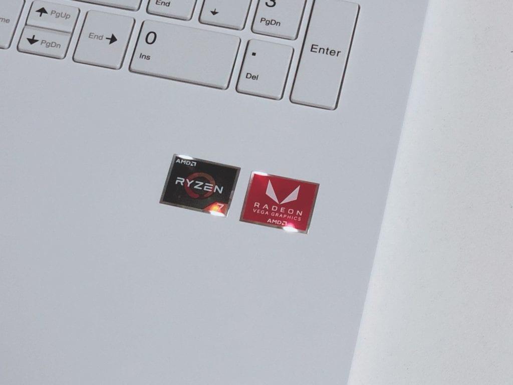 NEC Ryzenパソコンロゴ