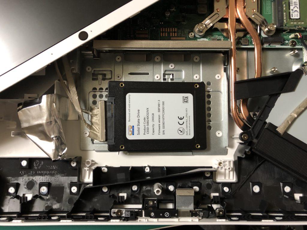 HP 22 c0017jp 開梱方法