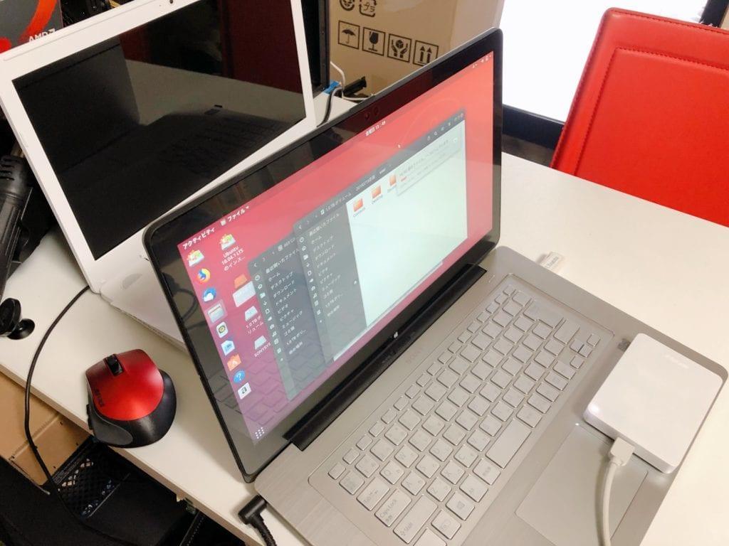 LinuxOSのUbuntu