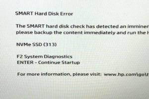 HP SMART Error 313