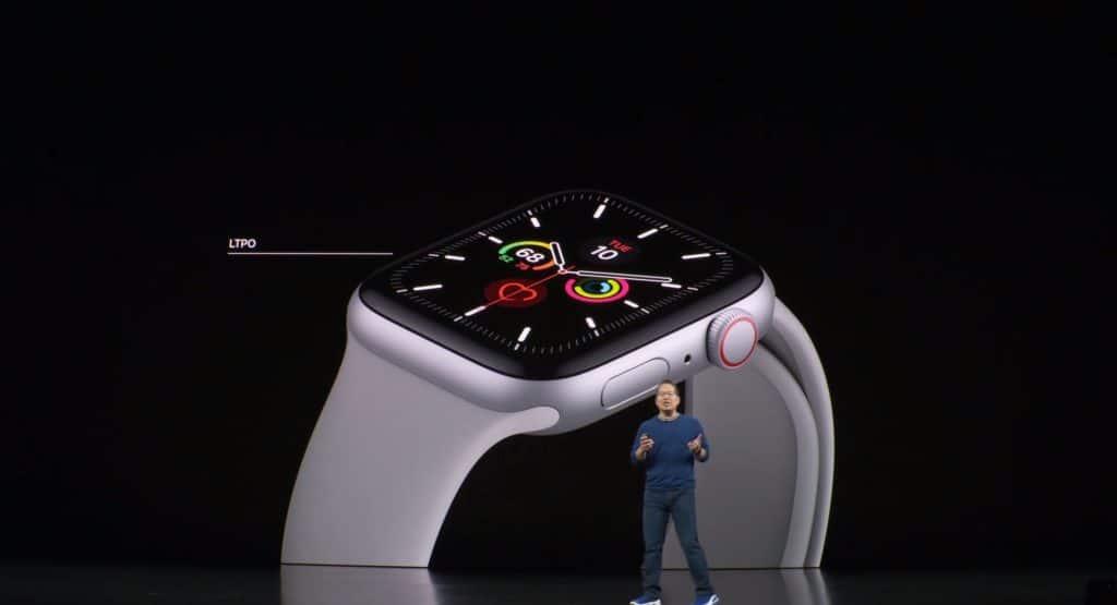 AppleWatch 明るさ消えない
