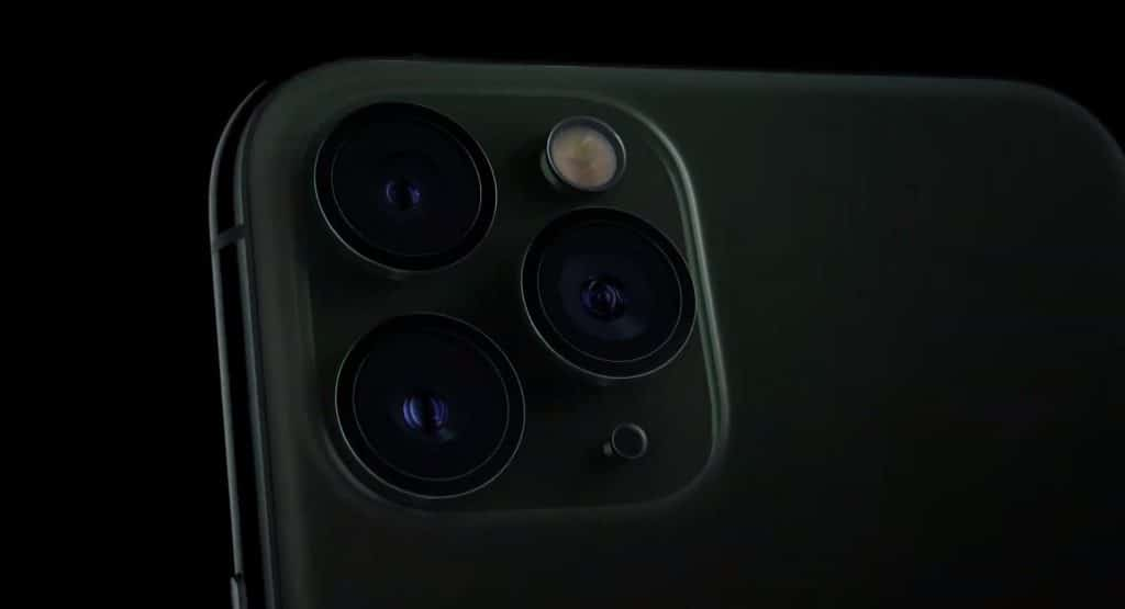 iPhone11 Pro 3レンズ