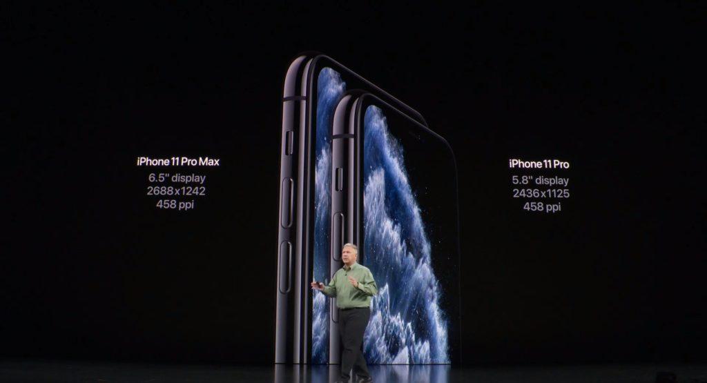 iPhone11 Pro は2種類