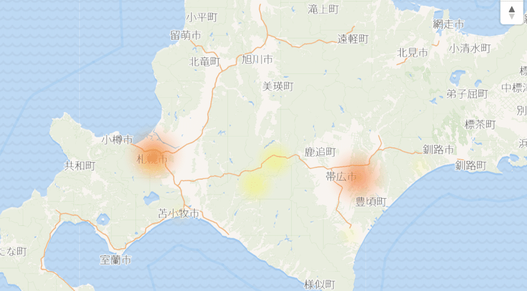 2020年3月10日のNTT東日本の被害状況
