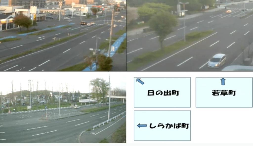 苫小牧ケーブルテレビ の道路情報カメラ