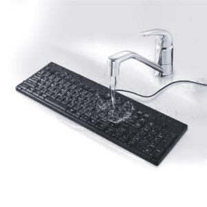 防水キーボード