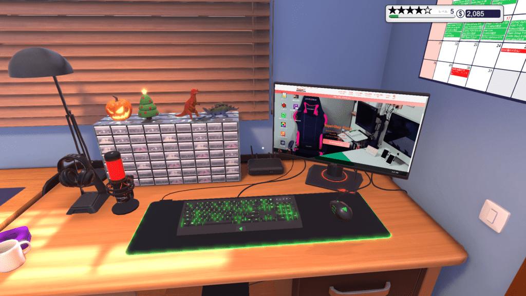 新PC Building Simulatorデスクトップまわり