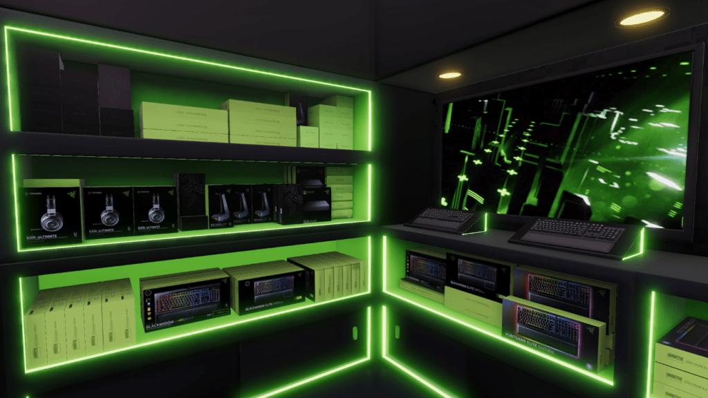Razer部屋を作る事も可能