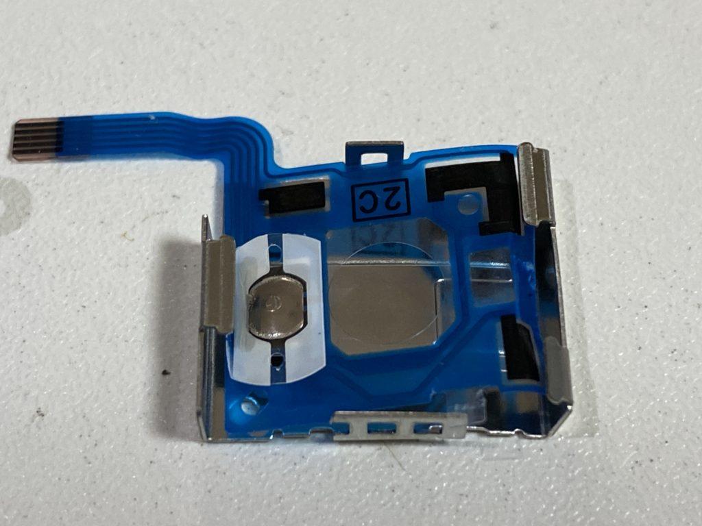 ジョイコン分解部品センサー