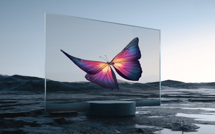 Mi TV Transparent Edition