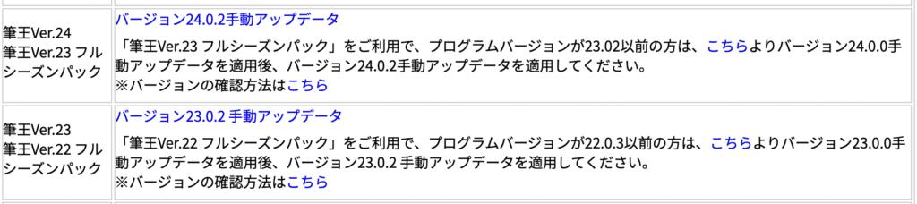 バージョン23.0.2 手動アップデータ