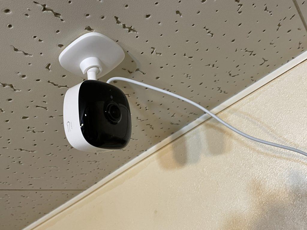 防犯カメラを使った人感センサーライト化を行う