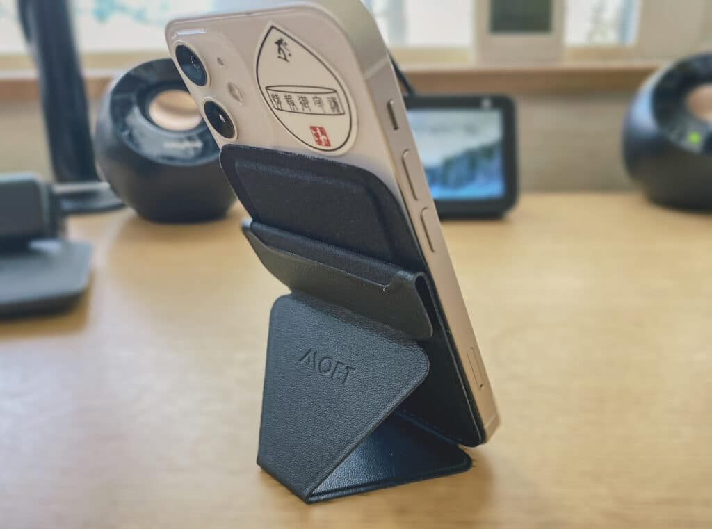 MOFT マグネットスマホスタンドiPhone12miniスタンド化