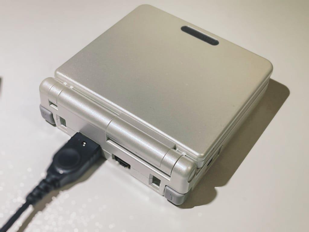 ゲームボーイアドバンスSP充電
