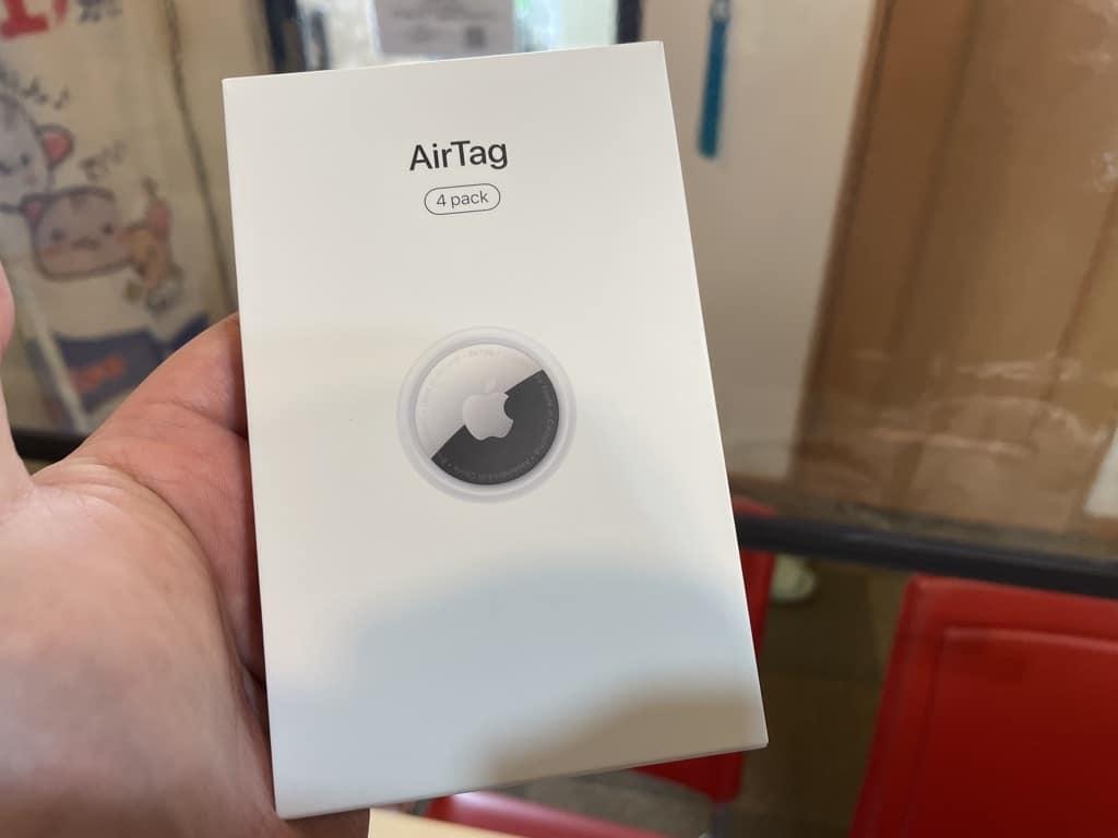 AirTagの使い方は財布に入れるのではなく宅内に置くと便利でしたね