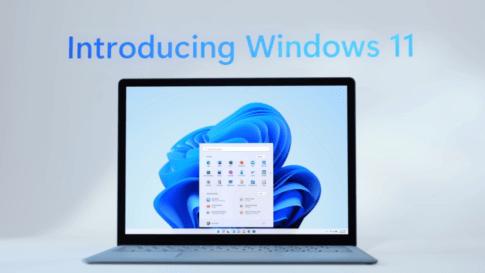 Windows11が正式発表され、Androidアプリが動作するみたいですよ
