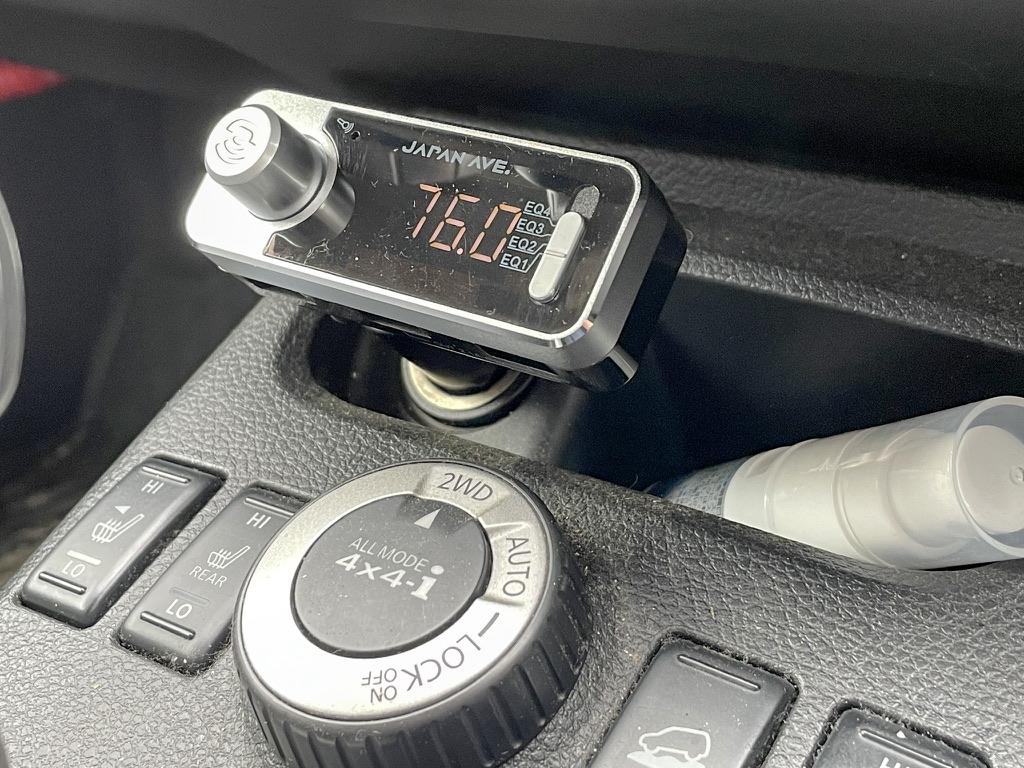 車内でBluetoothを送信する装置