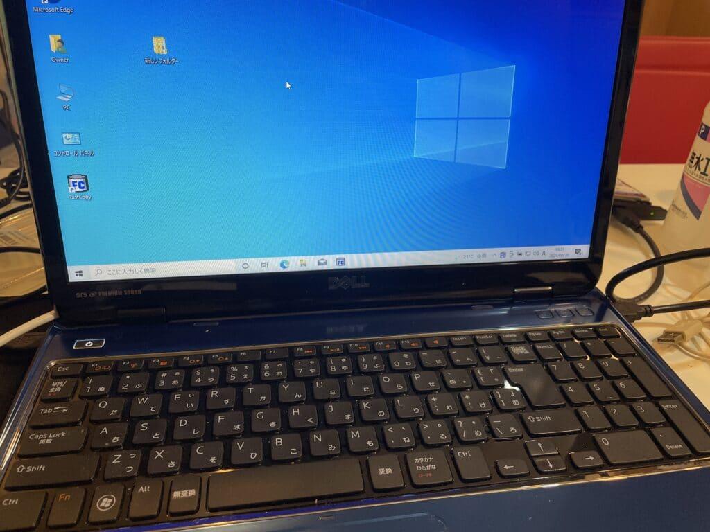 DELLのInspiron N5110でWindows10で画面が真っ暗な状態を直す方法は最新BIOSで修正されます