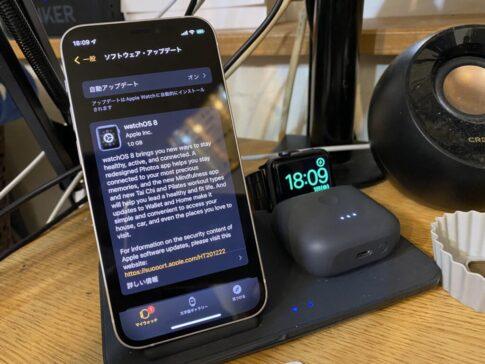初代アップルウオッチよ・・・もうここまでなのか・・・WatchOS8から除外へ