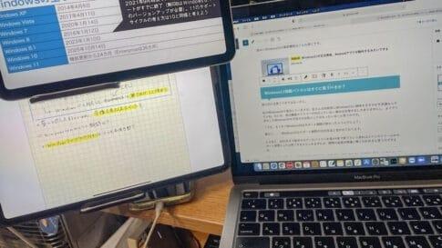 iPad miniの使い方を考えたらこんな使い方になってしまいました